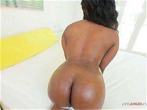 hefty ass ebony cutie teases rigid in point of view