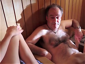 daddy romped mind-blowing virgin slit