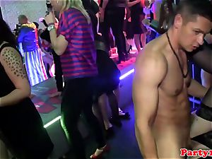 plump nymph porked in the club