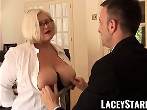 LACEYSTARR - servant GILF booty plunged by Pascal white
