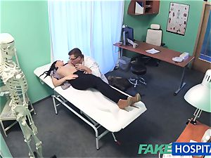 faux polyclinic sizzling tattoo Patient cured with firm man-meat