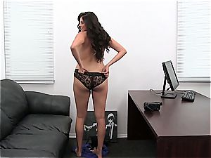 sizzling anal invasion internal cumshot at pornography casting