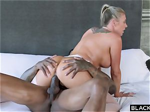 interracial porno with extra class sex industry star and ebony dude Jason Luv