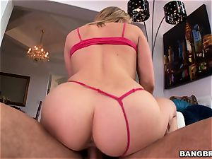 sizzling butt light-haired Mia Malkova longing man rod