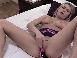 QuestForOrgasm - sensual masturbation with light-haired babe