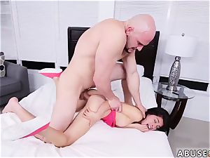 manstick gonzo unload and mummy gang-fuck xxx She gets her tiny honeypot tucked from various