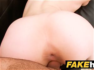faux Agent internal ejaculation for new ginger-haired yankee model