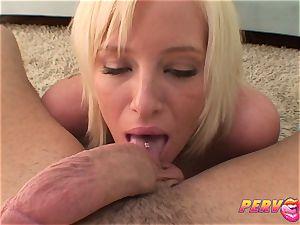 PervCity blonde tramp Face screwed