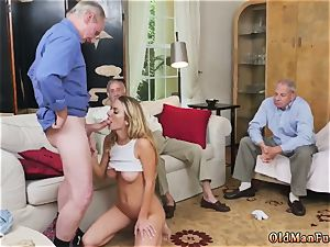 fat all-natural bosoms older boy and verified unexperienced youthfull Molly Earns Her Keep