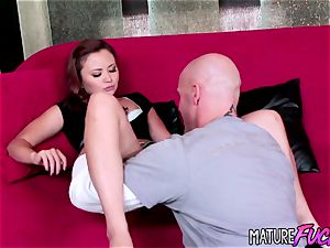 asian nubile Kita Zen torn up by white beef whistle