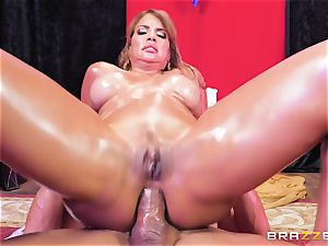 Oiley Mercedes Carrera torn up enormous time by hefty beef whistle