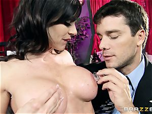 fortunate man has outstanding fucky-fucky with luxurious milf Kendra zeal