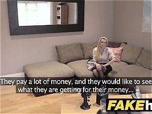 fake Agent UK amateur thick bumpers cougar bj's boner for cash
