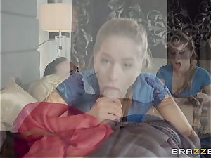 stepparent pummels his stepdaughter Lilly Ford
