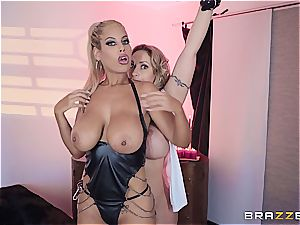Eva Notty pounds her stepson with Bridgette B