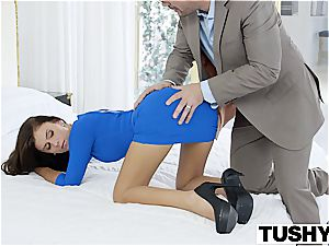 TUSHY very first anal For steamy wifey Whitney Westgate