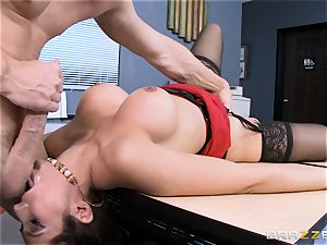 Reena Sky pounds her large dicked colleague