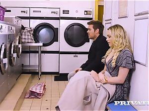Private.com - Mia Malkova gets nailed in the laundry
