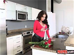 cumming on chocolates from valentines day with Sophia Leone and Sean Lawless