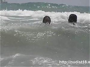 naturist beach voyeur preys on naked sweethearts