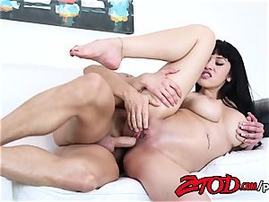 Oriental cutie Jayden Lee penetrated to climax