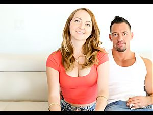 flamy red-haired Leigh Rose hopes this anal screw heads smooth