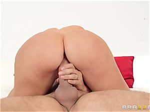 My wife's obscene hefty ass sista Nicolette Shea railing my beef whistle in the matrimonial bed