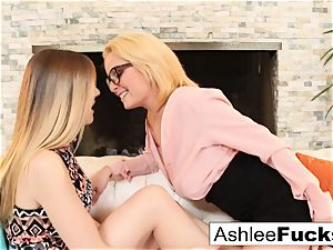 Ashlee gets seduced by her stepdaughter