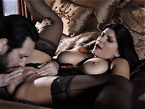 inward devils Sn trio Romi Rain is one marvelous prostitute