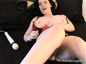 gigantic jugged honey Solo joy and masturbation