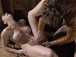 Spoiled pt two Chanel Preston gets her molten muff handled