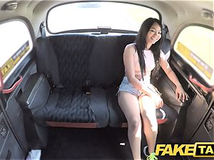 faux cab sumptuous Thai lady with pierced cooch lips