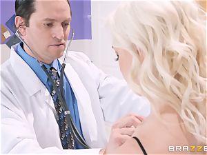 Preston Parker bangs her sizzling doctor