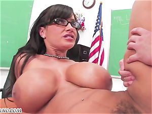 Lisa Ann - individual lessons on fuck-fest education after class