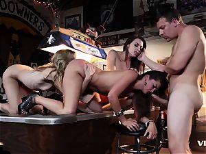 Allie Haze And mates heads horny And ultra-kinky