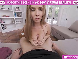VRBangers curvaceous Lena Paul Get poon packed With spunk