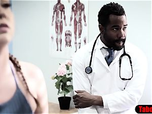 big black cock doc exploits beloved patient into anal invasion orgy examination