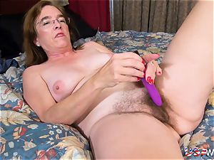 USAwives grandmother Carmen Solo playthings getting off