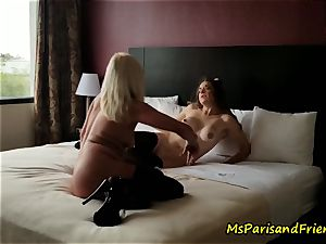 The hotel apartment Strippers fucky-fucky with Ms Paris Rose