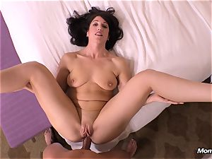 virginal black-haired milf hotwife internal cumshot dream