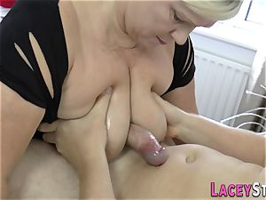 grandmother With blonde Hair luvs firm fuckpole