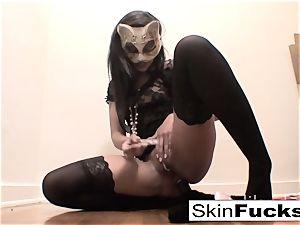 very naughty vulva play with skin Diamond