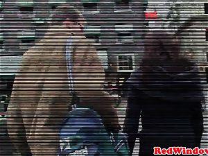 black amsterdam prostitute handles white stud