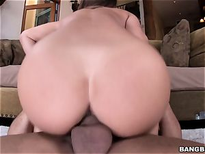 sweeping super-fucking-hot damsel Eva Lovia banged in her moist vag
