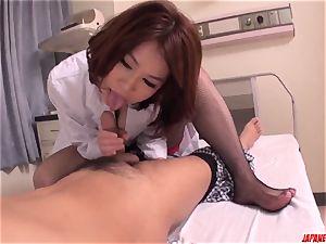 fuck-fest with torrid chinese mummy Erika Nishino