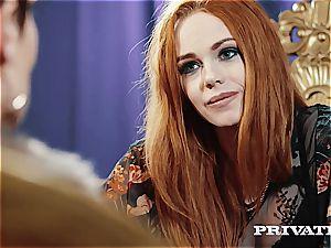 Private.com - Ella Hughes, spunk in Her furry honeypot