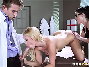 Aaliyah love and Veruca James get nasty at the surgery