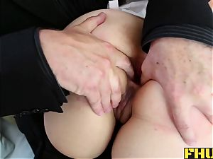 booty insertions and harsh ass fucking for japanese honey