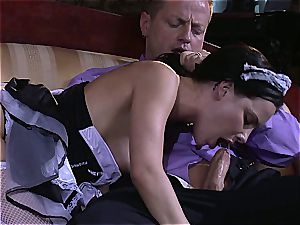 mischievous maid will do anything for the sir