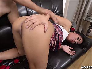 Crime and penalty. super-hot Latina likes raunchy hard hump